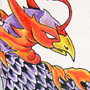 Tattoo - Phoenix - Close up